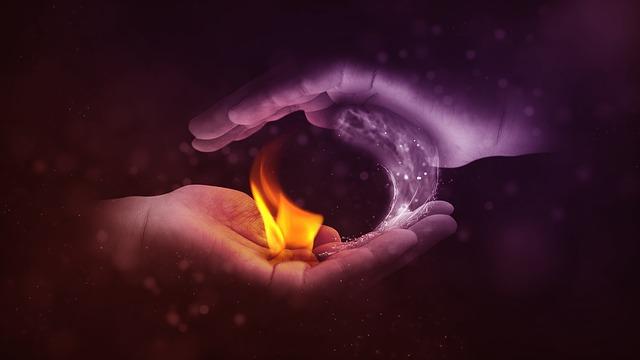 Yin-Yang Water-Fire
