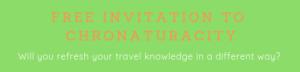 Free Invitation to Chronaturacity pic featured