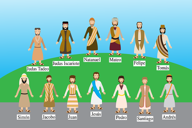 Bible 12 Apostles