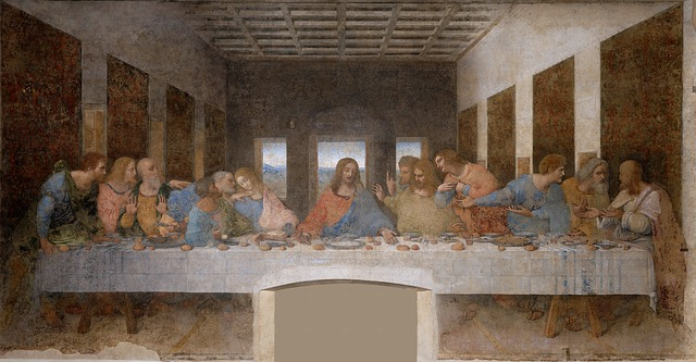 Last supper drawing