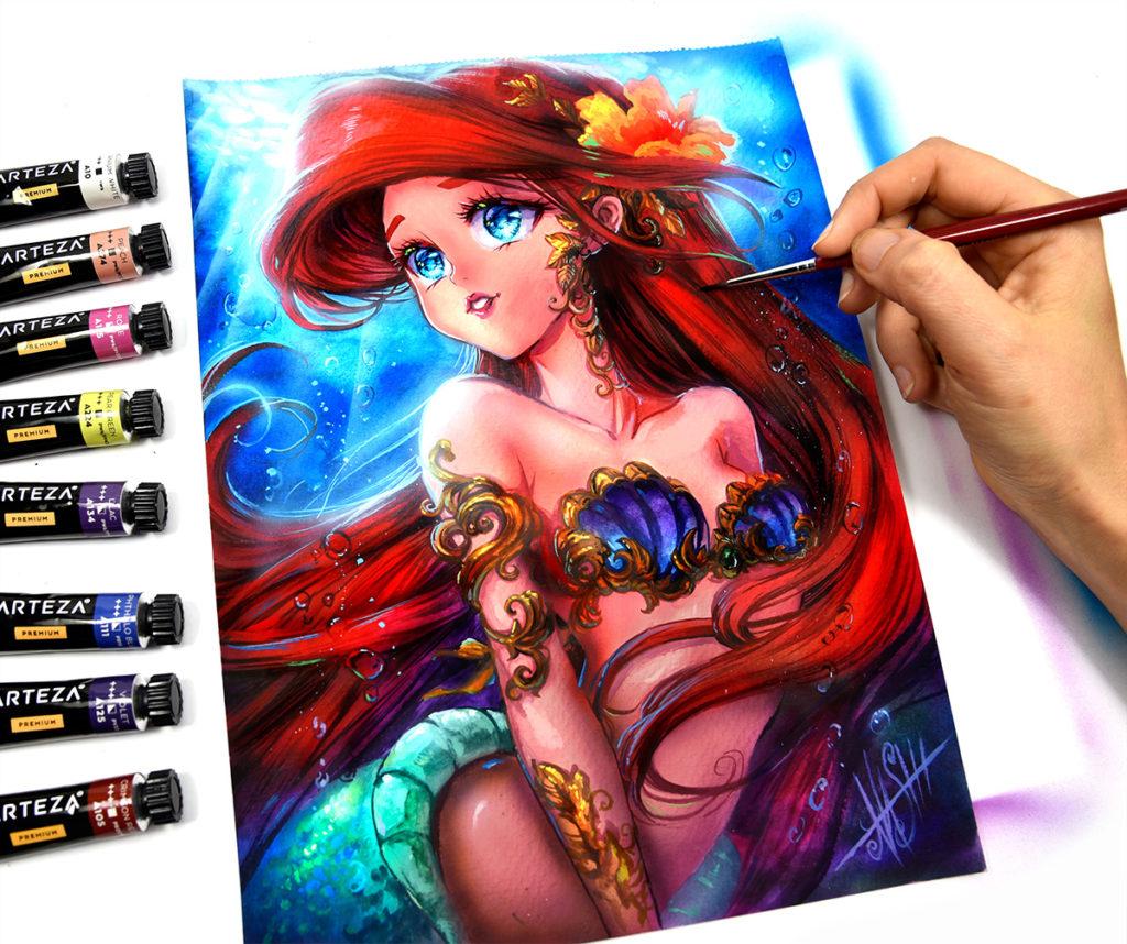 Cancer Sun Leo Moon - Princess Ariel
