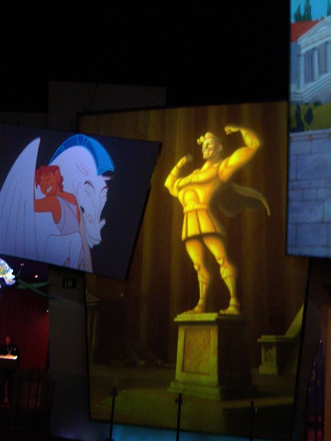 Hercules - the Greek super hero from Disney world