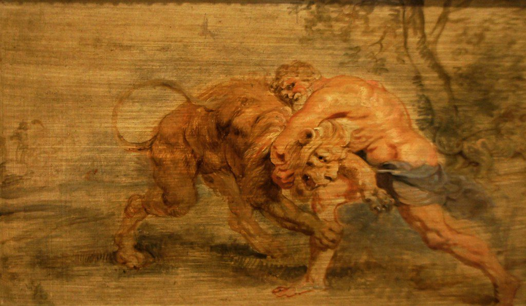 first hercules labour - slaying nemean lion