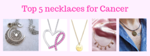 Top 5 necklaces for Cancer