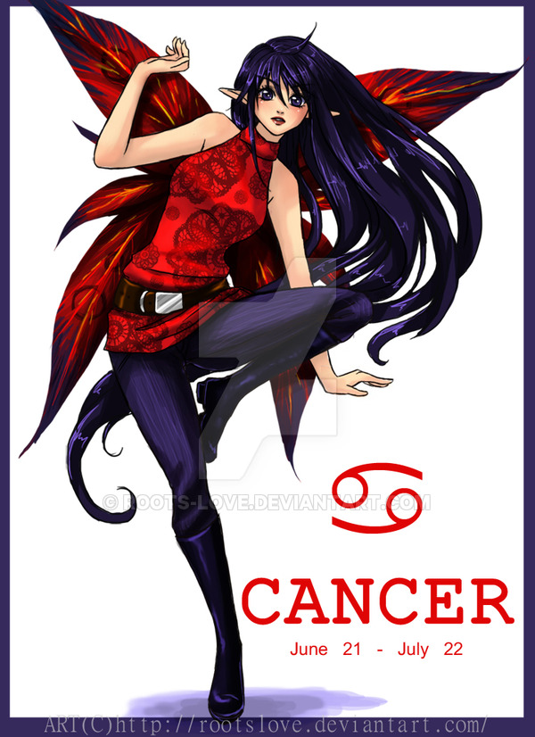 Cancer fairy art