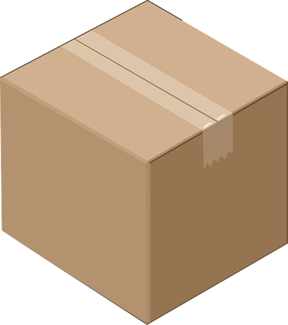 big empty box
