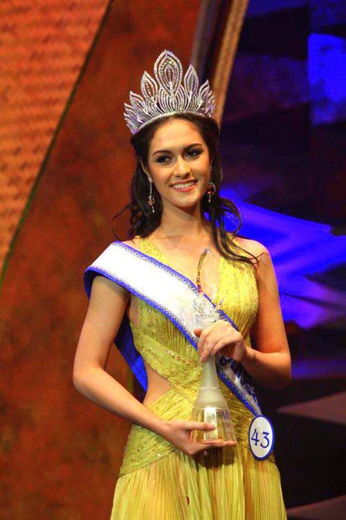 Farida Waller Thai Miss Universe 2012
