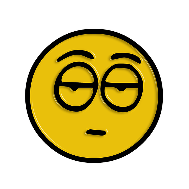 tired and boring emoji