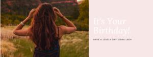 Libra woman birthday