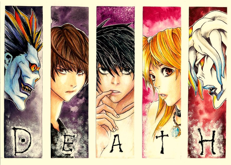 Death note art by AjkaSketch