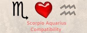 Scorpio Aquarius compatibility