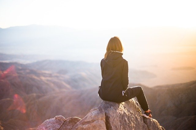 capricorn woman wants to be on top of mountain